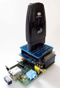 Pimoroni Pan-Tilt Chapeau kit Complet W//Micro Servos