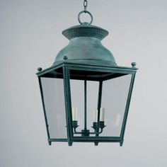 Vaughan Designs | French Chateau Lantern, External