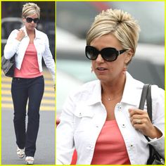 katniss everdeen hairstyles : kate plus 8 hairstyles Kate+Gosselin in Kate Gosselin Out In New ...