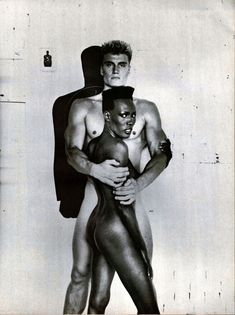 .A time she recalls (unfazed) was living in Paris with fellow models Jerry Hall and Jessica Lange in the late-'70s. They once attended a party full of French politicians, Jones turned up with just a string of bones around her neck and nothing else. Another typical Grace Jones stunt that's sure to go down in French history.