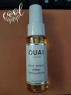 Ouai Wave Spray Texture Beach Volume Shine Spray Travel Size 30 ml/ 1 oz New Beach Wave Spray, Ouai Hair Oil, Coconut Oil Body Scrub, Travel Size Makeup, Hair Cleanser, Shine Spray, Hair Mist, Dry Shampoo