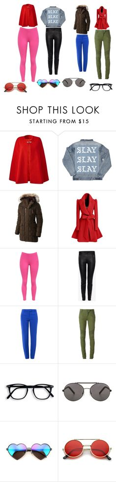 """""""December-14-12-2016-Day-Fashion-Women"""" by ibur-7snowflakes ❤ liked on Polyvore featuring SOREL, WithChic, Alexander McQueen, Boutique Moschino, Balmain, Seafolly, Wildfox and ZeroUV"""