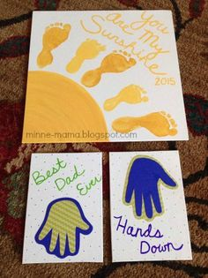 Minne-Mama: Valentine Prints Handprint art that is easy for kids, fingers, toes, hands and more! Get messy Valentine Crafts For Kids, Fathers Day Crafts, Baby Crafts, Summer Crafts, Valentines Diy, Toddler Crafts, Crafts To Do, Holiday Crafts, Holiday Fun