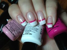 Red Carpet Manicure French Manicure