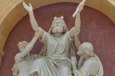 """Moses in Prayer supported by Aaron and Hur"" - Schloss Sanssouci - Potsdam - Germany  Photo by Joana Medina"
