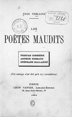 Paul Verlaine, les Poètes maudits Alfred Jarry, Paul Verlaine, Calligraphy Words, Total Eclipse, Life On Mars, Walt Whitman, The Orator, Book Authors, Writings