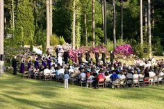 When choosing your ceremony location remember to consider the number of people you will invite, the style of wedding you want, and the atmosphere you wish to create.