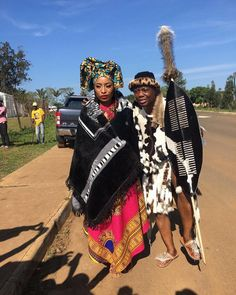 DJ Tira and his long time beau, Gugu Mbambo married in a traditional ceremony. See photos from the beautiful day. See Photo, Beautiful Day, Dj, Wedding, Style, Fashion, Valentines Day Weddings, Swag, Moda
