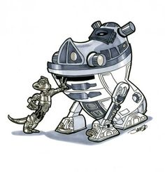 C3PO-Timon and R2D2-Pumbaa.