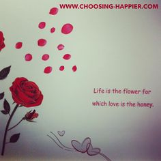 Saw this on a wall. & loved it Love, Happy, Wall, Flowers, Amor, Ser Feliz, Walls, Royal Icing Flowers, Flower