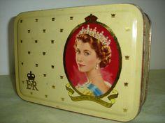 Original Vintage Coronation Souvenir Tin - 1953 | eBay
