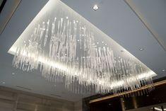 Boundless project by Wimberley Glassworks Western Restaurant, Glass Installation, Art Installations, Luxury Chandelier, Chandeliers, Office Space Design, Restaurant Lighting, Shops, Blown Glass Art