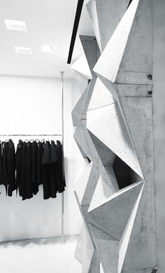 Rick owens fashion store milan interior shops cafe for Rick owens milan