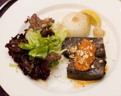 """Chef Michael Schwartz's Slow Roasted & Grilled """"Harris Ranch"""" Short Ribs with Roasted Cipollini & Romesco Sauce I 2011 Hospitality Gala"""
