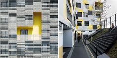 x-tu architects: nanterre apartment block, france
