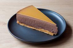 Bloedsinaasappel chocolade cheesecake