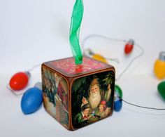 Retro, Vintage Christmas Ornaments