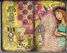 Michelle Allen is a great site inspiring artist!!! Check her out!