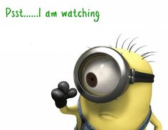 Aaaaaaannnndd, there it is. I always knew minions a potential for creepiness!