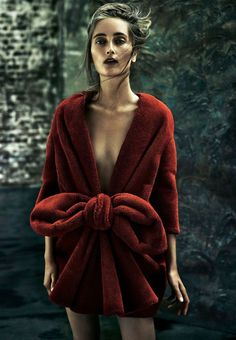 • Embroidered Truth: Iekeliene Stange By Rory Payne For Sunday Times Style 14th December 2014 - Viktor & Rolf.