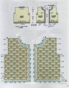 Tığ işi Kirpik Desenli Hırka Modeli Şeması