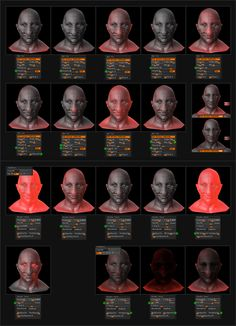 Sub Surface Scattering Zbrush Tutorial, 3d Tutorial, Sculpting Tutorials, Art Tutorials, Zbrush Render, Digital Sculpting, Modeling Tips, Computer Art, Face Expressions