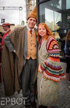 Harry Potter Costumes Arthur and Molly Weasley at Universal's Celebration of Harry Potter