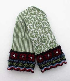 latvian mittens chart - Google Search