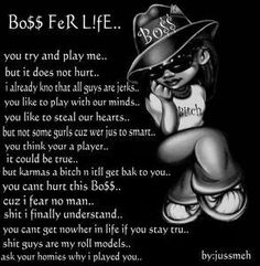 boss bitch | Myspace Graphics > Quotes > boss for life Graphic