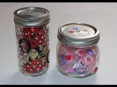 Candy Jar for Valentine's Day