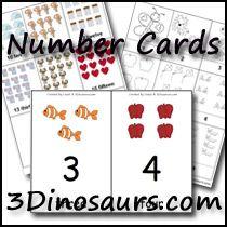 3 Dinosaurs - Number Activities plus printable packs, abcs, colors, shapes. Dinosaurs Preschool, Preschool Learning, Toddler Preschool, Teaching Math, Preschool Activities, Learning Numbers, Math Numbers, Math For Kids, Fun Math