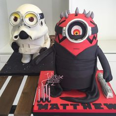 Star Wars Minions - Cake by Jolirose Cake Shop
