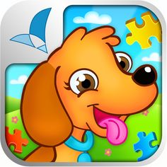@Rosmedia #AppyReview by Jackie Bryla @SLPAbryla @appymall 123 KIDS FUN ANIMATED PUZZLE will engage you from the get-go with it's fun carnival style music!  Eleven puzzle categories to choose from and then multiple puzzles within each to choose from.  Some puzzle have an easy (less pieces) and hard (more pieces) option.  This is a great app for working on f