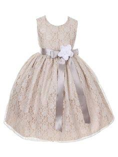 DressForLess Champagne Elegant Lace Flower Girl Dress with Ribbon Sash, SilverWhite, 6, (CC1132CM-SV-WT-6) DressForLess http://www.amazon.com/dp/B00HZVQ9L6/ref=cm_sw_r_pi_dp_I1Kwvb10KHJYS