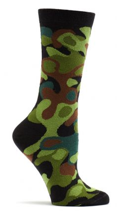 The Joy of Socks - Camo Specks Socks (Women's), $10.58 (http://www.joyofsocks.com/camo-specks-socks-womens/)