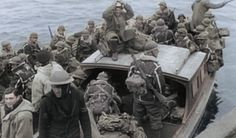 French Foreign Legionnaires being shipped to the battles of Narvik, Norway c.1940
