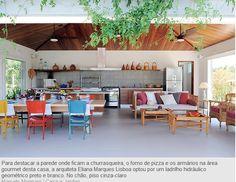 churrasqueira, outside, garden, bbq, gray