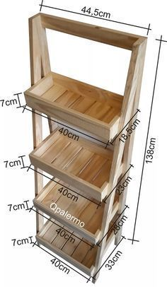 organizador cocina, madera #modelosdecasasdemadera