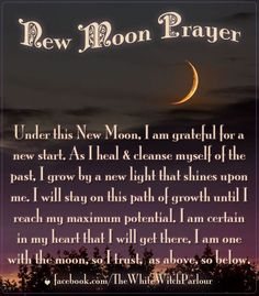 new moon ceremony ideas - Google Search