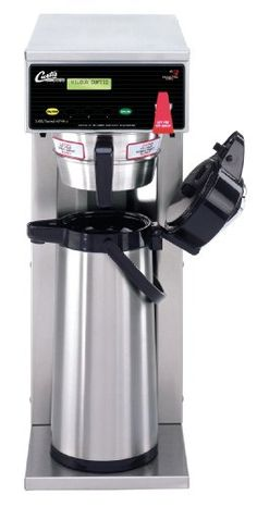 Wilbur Curtis Airpot Brewer To L Single/Standard Airpot Coffee Brewer, Dual Voltage - Commercial Airpot Coffee Brewer - (Each) * Find out more details by clicking the image : Coffee Maker Fresh Coffee, Drip Coffee, Coffee Cups, Coffee Geek, Coffee Shop, Coffee Maker Reviews, Coffee Equipment, Brewing Equipment, Kitchen Equipment