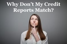 If you've reviewed your credit report from more than one bureau before, you may have noticed some variation from one bureau to the next. Wondering why this happens? Read on to find a few possible reasons and some suggestions on what you can do next.
