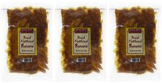 Trader Joe's Dried Flattened Banana (Pack of 3): Amazon.com: Grocery & Gourmet Food