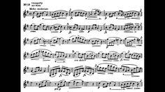 Baermann  Etude op. 63 Nr. 18 Sheet Music, 18th, Youtube, Clarinet, Youtubers, Music Sheets