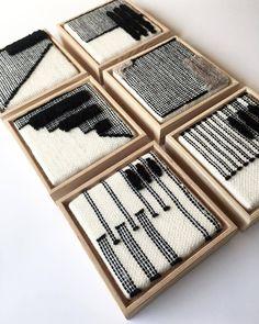 brook & lyn weavings - - more weavings from brook & lyn. Weaving Textiles, Weaving Art, Weaving Patterns, Loom Weaving, Tapestry Weaving, Stitch Patterns, Knitting Patterns, Art Macramé, Diy And Crafts