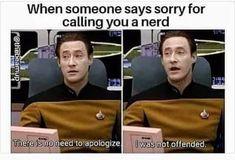 Chris Evans, Star Trek Data, Star Trek Meme, Funny Star Trek, Haha, Star Wars, Saying Sorry, Fandoms, Dc Movies