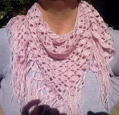 pañuelo cuello rosa