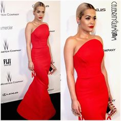 """Celebrityglamcam en Instagram: """"The Golden Globes have finally arrived! Follow @celebrityglamcam for the best live red carpet coverage. Rita Ora wearing Zac Posen at the Globes after party in 2015. #ritaora #zacposen #redcarpet #instafashion #fashion #instaglam #glamour #beauty #fashionista #stylishstarlets #GoldenGlobes #celebrity #celebrityglamcam @ritaora @zacposen"""""""