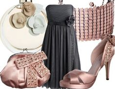 cute for a nice date night, wedding or formal event!