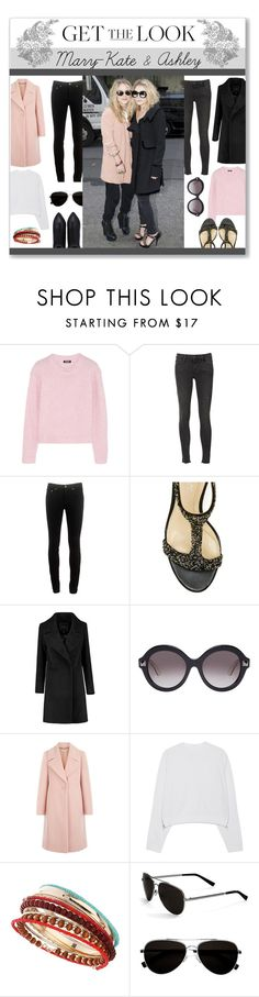 """""""Get the look: Mary-Kate & Ashley!"""" by lilymillyrose ❤ liked on Polyvore featuring DKNY, Frame Denim, rag & bone, Valentino, Hobbs, Acne Studios, Dorothy Perkins, Calvin Klein, Olsen and GetTheLook"""