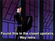 Dick Grayson that's who.>> no that's fine, I wasn't using my blood pumper that's ok don't worry about it